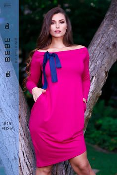 3490c78454 Billionbe by Bebe Fuxia zsebes ruha - Lili Fashion