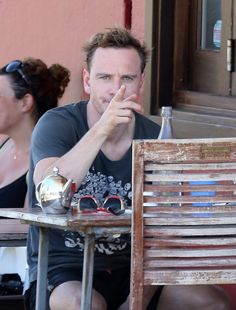 Michael Fassbender is watching you.
