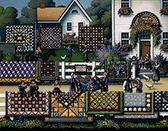 Amish Quilts, by Eric Dowdle Amish Collection Dowdle Folk Art