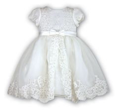 Christening dress with beading - Treasured Favours