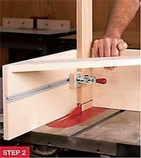 Tenon method: Stay with the tablesaw, but add a shop-made jig