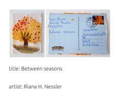 Winterthur, Mail Art, Seasons, Artist, Artists, Seasons Of The Year, Letter Art