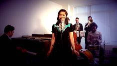 I like this way better than the original.  Drunk in Love - Vintage Big Band / Swing Beyonce Cover ft. Cristina Gatti