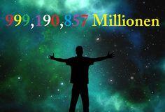 999,190,857 Millionen Weltweite Promotion  (Virale Vermarktung)