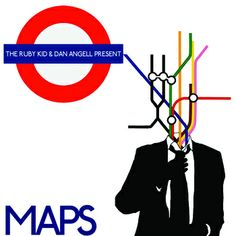 Maps, by The Ruby Kid, an authentic, committed, left-wing activist, poet and hip-hop rapper, who also happens to be my Nephew. Great use of graphics and the London Tube Map to position the album and his own love of the London music and political scene. His music's not half bad either.
