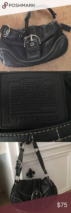 Coach purse Black Coach Purse Coach Bags Hobos