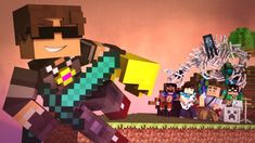 """""""New World"""" - A Minecraft Parody of Coldplay's Paradise (Music Video)  MAH MOST FAVE SONG!!!! Go check out Sky: http://www.youtube.com/user/SkyDoesMinecraft"""