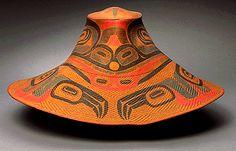 Haida hat. Artisan unknown
