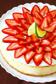 strawberry margarita cheesecake - Gimme Some Oven