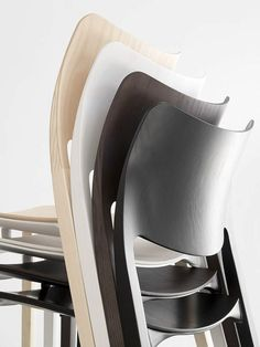Stackable ash #chair LACLASICA - @stuadesign