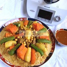 Les secrets de cuisine par Lalla Latifa - Couscous marocain au Thermomix TM5 Plus