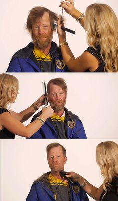 Absolutely made me cry ♥ watch the video: Jim Wolf, Homeless U.S. Army Veteran, Undergoes Incredible Transformation In Time-Lapse Video.