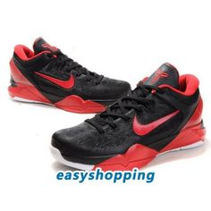 newest 87028 e89cc Nike Zoom Kobe 7 (VII) System Black-Varsity Red Nike Football Boots,