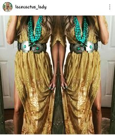 A very simple dress on it's own but the turquoise really glams up the situation