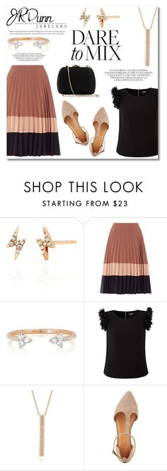 """""""Dare to mix!"""" by irina-oleg ❤ liked on Polyvore featuring EF Collection, Miss Selfridge, Dunn, Charlotte Russe, Serpui, contestentry, layering, Mixing and JRDunn"""