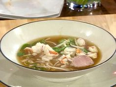 Picture of Lobster Pho Recipe Vietnamese Chicken Noodle Soup Recipe, Vietnamese Recipes, Asian Recipes, Healthy Recipes, Ethnic Recipes, Pho Recipe, Asian Soup, Soup Recipes, Seafood Recipes