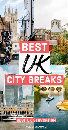 Here are the best UK city breaks to add to your UK bucket list and UK staycation Ideas Travel Uk, Europe Travel Guide, Travel Info, Ireland Travel, London Travel, Travel Advice, Budget Travel, European Vacation, European Tour