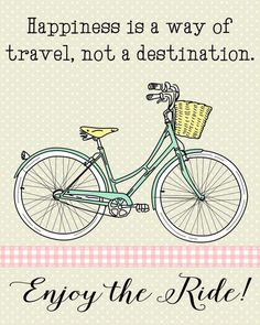 Enjoy the Ride!  #bicycles #cycling