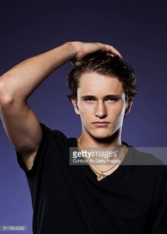 News Photo : Tennis player Alexander Zverev is photographed at...