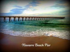 Longest Pier on the Gulf Coast @ Navarre Beach, Florida. My home for half of July this summer:) Navarre Beach Florida, Florida Beaches, Beach Vacation Spots, Vacation Ideas, Most Beautiful Beaches, Beautiful Places, Future Travel, Oh The Places You'll Go, Amazing Nature