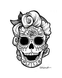 Resultado de imagen de halloween marcapaginas calaveras mexicanas