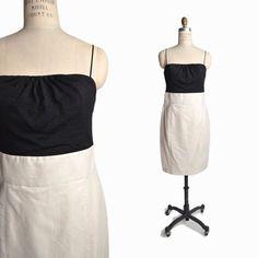 IISLI Cocktail Dress in Black & Bailey Shimmer Ivory - NWT $348 - 8 #Iisli #WigglePencil #Cocktail