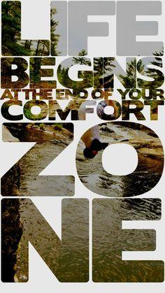 Kommaarop is daar een goed voorbeeld van, buiten die comfortzone, daar ligt ontwikkeling en uitdaging!