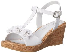 Nina Suzy Wedge Sandal (Little Kid/Big Kid) >>> You can get more details here : Girls sandals