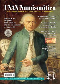 Se publicó el No. 21 de la Revista UNAN Numismática, correspondiente al bimestre Noviembre-Diciembre de 2017. Puede descargarse en nuestra Biblioteca Digital: http://www.monedasuruguay.com/bib/bib/unan/unan021.pdf