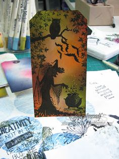 Spooky Tag, Lavinia Stamps