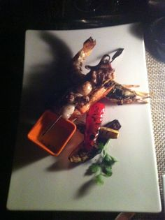Seafood mixed plate