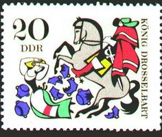 From 1967 German set based on the Grimm story King Thrushbeard.