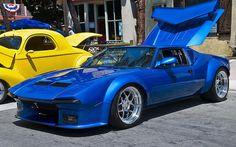 1980 DeTomaso Pantera GT5. Classic American Supercar!