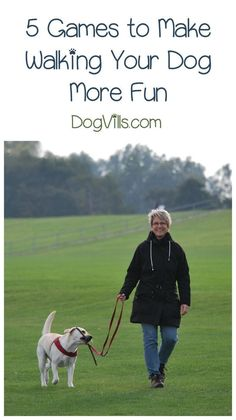 Looking for dog training tips to improve your exercise time? Check out our dog walk games!