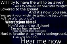 My favorite Hollywood Undead song- Hear Me Now