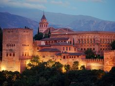 The Alhambra    The Last Moorish Palace and one of Europe's Top spots. Glad to have already taken history of architecture!