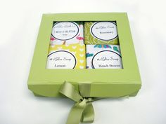 Summer Soap Gift Set- All natural bath products handcrafted at Abilis. All profits support people with disabilities.
