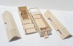 Glenn Murcutt Case Study, Marie Short House Model by lizbethrigg, via Flickr