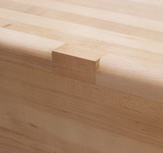 Details we like / Bench / Wood / Left Out / Step / at Maple BenchDesign: Aldo Bakker
