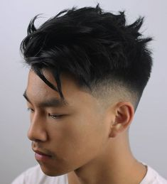 Asian men tend to have straight, thick hair, and the best asian hairstyles Popular Haircuts, Cool Haircuts, Haircuts For Men, Cool Hairstyles, Asian Hairstyles, Men's Haircuts, Medium Haircuts, Mens Haircuts Asian, Asian Men Short Hairstyle