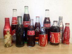 Variedad de botellas del Mundo.