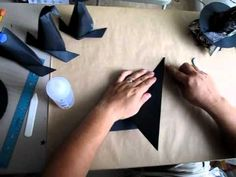 ▶ The 13 Haunted Projects Of Halloween ~Week#8~ Origami Box With Witch Hat Lid Part 2 - YouTube