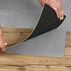 [neu.holz] Vinyl - Laminat (1,114m²) Eiche natur) - stark strukturiert & gefühlsecht / Dielen / Planken / Design Boden-Belag