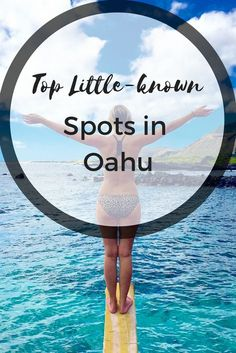 Oahu, Hawaii has our hearts! Check out these top little known stops we found and you must see, we even threw the locals for a loop with one hidden spot!
