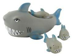 Rubber Shark Family Bathtub Pals - Floating Bath Tub Toy Playmaker Toys http://www.amazon.com/dp/B004US0QPW/ref=cm_sw_r_pi_dp_XPSPvb00FPDF5