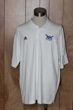 MEN'S ADIDAS CLIMA COOL SHORT SLEEVE POLO SHIRT-SIZE: 2XL* #ADIDAS #PoloRugby