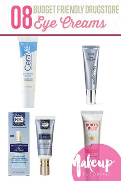 8 Best Drugstore Eye Creams To Fix All Your Eye Problems   Beauty Tips And Tricks by Makeup Tutorials at http://makeuptutorials.com/8-best-drugstore-eye-creams-fix-eye-problems/