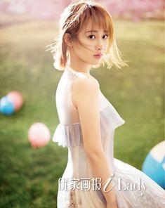 Chinese actress Yang Zi poses for fashion magazine | China Entertainment News