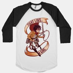 I HAVE A MIGHTY NEED. Mikasa from Attack on Titan