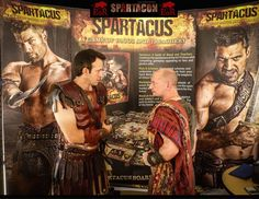 at Spartacon 2015.  Enemy of Rome and Spartacus